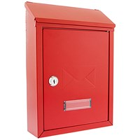 Post/Suggestion Box - Red