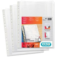 Elba A4 Heavy-duty Expanding Pockets - Pack of 5
