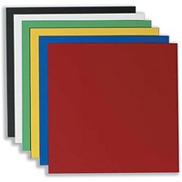 Nobo Magnetic Squares, Vinyl, 150x150mm, Assorted, Pack of 6