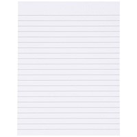 Everyday Memo Pad Ruled, 200x150mm, 80 Sheets, Pack of 10