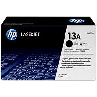 HP 13A Black Laser Toner Cartridge