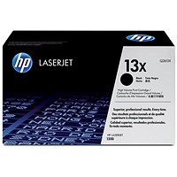 HP 13X Black Laser Toner Cartridge