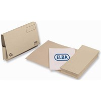 Elba Full Flap Probate Wallets / Manilla / 285gsm / Foolscap / Buff / Pack of 25