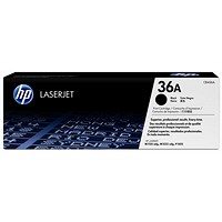 HP 36A Black Laser Toner Cartridge (Twin Pack)