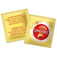 Canderel Yellow Low Calorie Artificial Sweetener Granules - 1000 Sachets