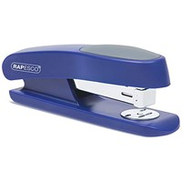 Rapesco R7 Stingray Half Strip Stapler - Blue