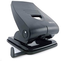 Rapesco 835P Heavy-duty 2-Hole Punch / Black / Punch capacity: 40 Sheets