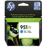 HP 951XL High Yield Cyan Ink Cartridge