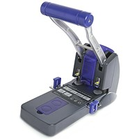 Rapesco 2200 Heavy-duty 2-Hole Punch / Black / Punch capacity: 150 Sheets