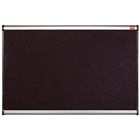 Nobo Prestige Noticeboard, High-density Foam, Aluminium Trim, W1200xH900mm, Black