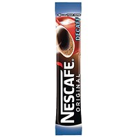 Nescafe Original Instant Decaffeinated Coffee Granules / Stick Sachets / Pack of 200