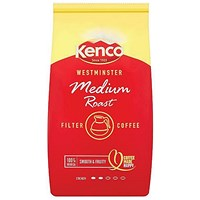 Kenco Westminster Medium Roast Ground Coffee for Filter - 1Kg