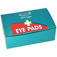 Wallace Cameron Eyepads, Twist & Open, Refill, Pack of 6