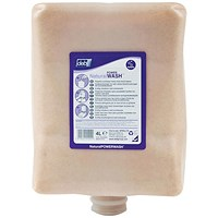 DEB Natural Power Wash Hand Soap Refill Cartridge - 4 Litre