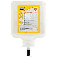 DEB Sun Protect Cream Refill Cartridge, SPF30, 1 Litre