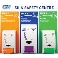 DEB Safety Skin Centre, Protect, Cleanse, Restore, Heavy Duty Wash