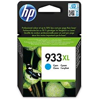 HP 933XL High Yield Cyan Ink Cartridge