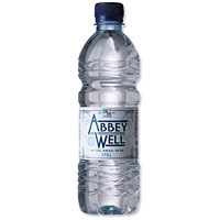 Abbey Well Still Mineral Water - 24 x 500ml Plastic Bottles