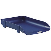 Rexel Agenda2 Letter Tray, 55mm, W286xD401xH60mm, Blue