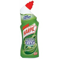 Harpic Active Toilet Cleaning Gel, Pine, 750ml