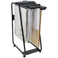 Arnos Hang-A-Plan, Drawing Storage Trolley, Large, Up to A0