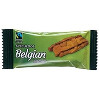 Fairtrade Speculoos Caramelised Biscuits, Individually Wrapped, Pack of 300