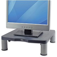 Fellowes Monitor Riser, 17 inch CRT 21 inch TFT, 27kg Capacity, 51-102mm, Graphite