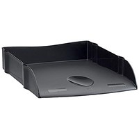 Avery DTR Self-stacking Letter Tray, W270xD360xH60mm, Black