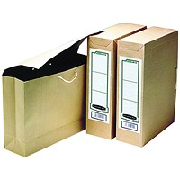 Fellowes Bankers Box Basics File Storage Bags, Foolscap, Pack of 25