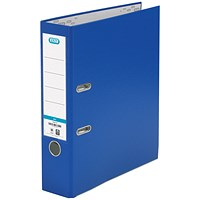 Elba A4 Lever Arch Files, PP, Blue, Pack of 10