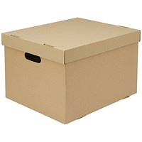 Everyday A4 Archive Boxes, Brown, Pack of 10