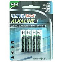 Everyday Alkaline Batteries / AAA / Pack of 4