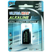 Everyday Alkaline Battery - 9V