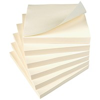 Everyday Sticky Notes, 76x76mm, Yellow, Pack of 12