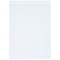Everyday A4 Memo Pad, Ruled, 80 Pages, Pack of 10