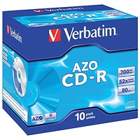 Verbatim CD-R Cased - Pack of 10
