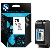 HP 78 Colour Ink Cartridge - Low Capacity