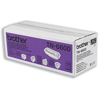 Brother TN6600 Black Fax Laser Toner Cartridge
