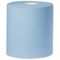 Kimberly-Clark Towel Roll Industrial Cleaning Towel Giant 2-Ply 310mmx350m Blue Ref Y04440