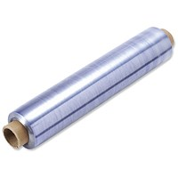 Antibacterial Cling Film Catering Pack, Blue Tint, 300mmx300m