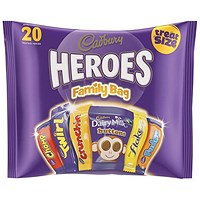 Cadbury Heroes Family Bag