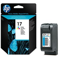HP 17 Colour Ink Cartridge