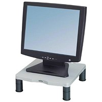Fellowes Monitor Riser, 17 inch CRT 21 inch TFT, 27kg Capacity, 51-102mm, Grey