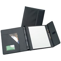 5 Star Executive Conference 4 Ring Binder, W278xH325mm, A4, Black