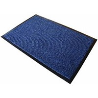 Floortex Door Mat, Dust & Moisture Control, Polypropylene, 1200mmx1800mm, Blue