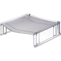 Leitz Universal Riser Platform for Letter Trays - Translucent Grey
