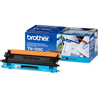 Brother TN135C Cyan Laser Toner Cartridge