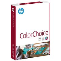 HP ColorLok A4 Smooth Laser Paper, White, 120gsm, 250 Sheets