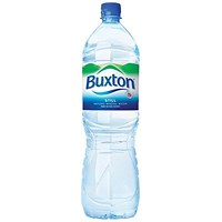 Buxton Natural Still Mineral Water - 6 x 1.5 Litre Plastic Bottles