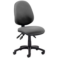 Trexus Luna 3 Lever Operator Chair - Charcoal